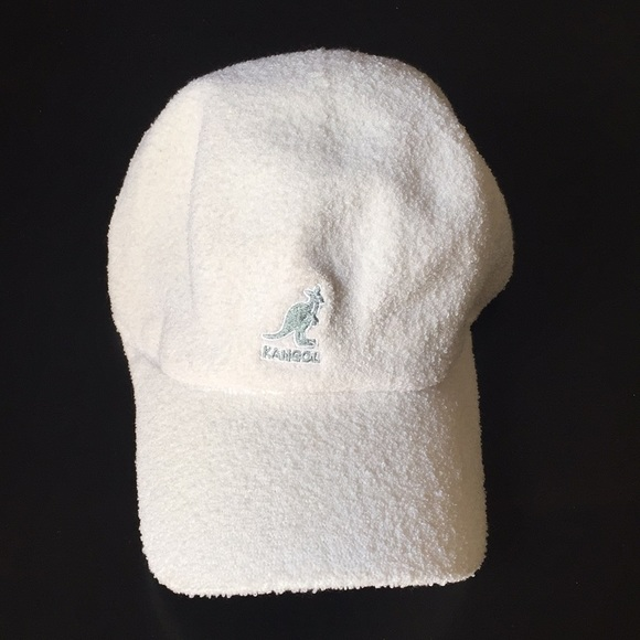 3086a8f30a5b3d Kangol Accessories | White Terry Cloth Bermuda Stretch Cap | Poshmark